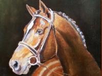 Obrazy olejne - Konie